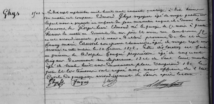 1874.N.GeorgesGHYS.Pars15